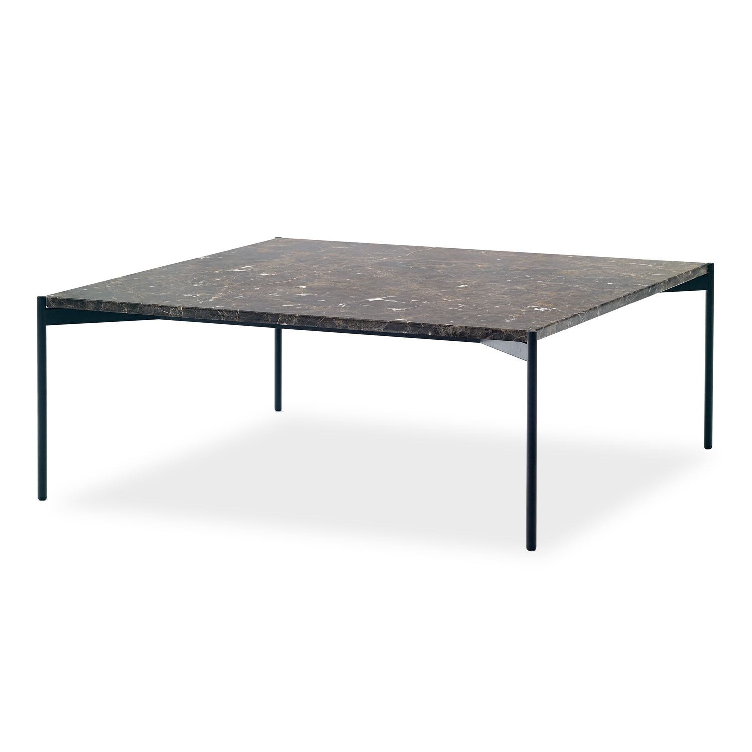 Plateau Table Rektangulärt White Carrara Soffbord | Adea