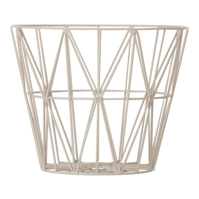 Wire Basket Grå. LagervaraFler varianter. Ferm LivingWire ... 8e81200fd8dd7