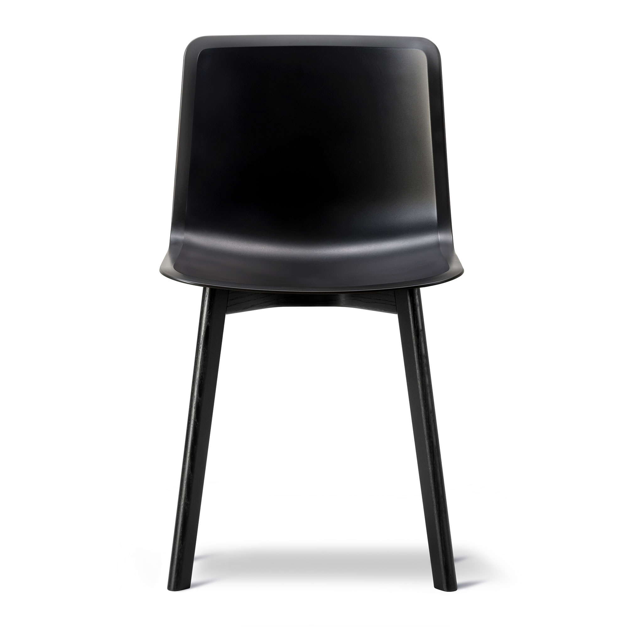 Pato 4225 Chair Svart Svartlackerad Ek