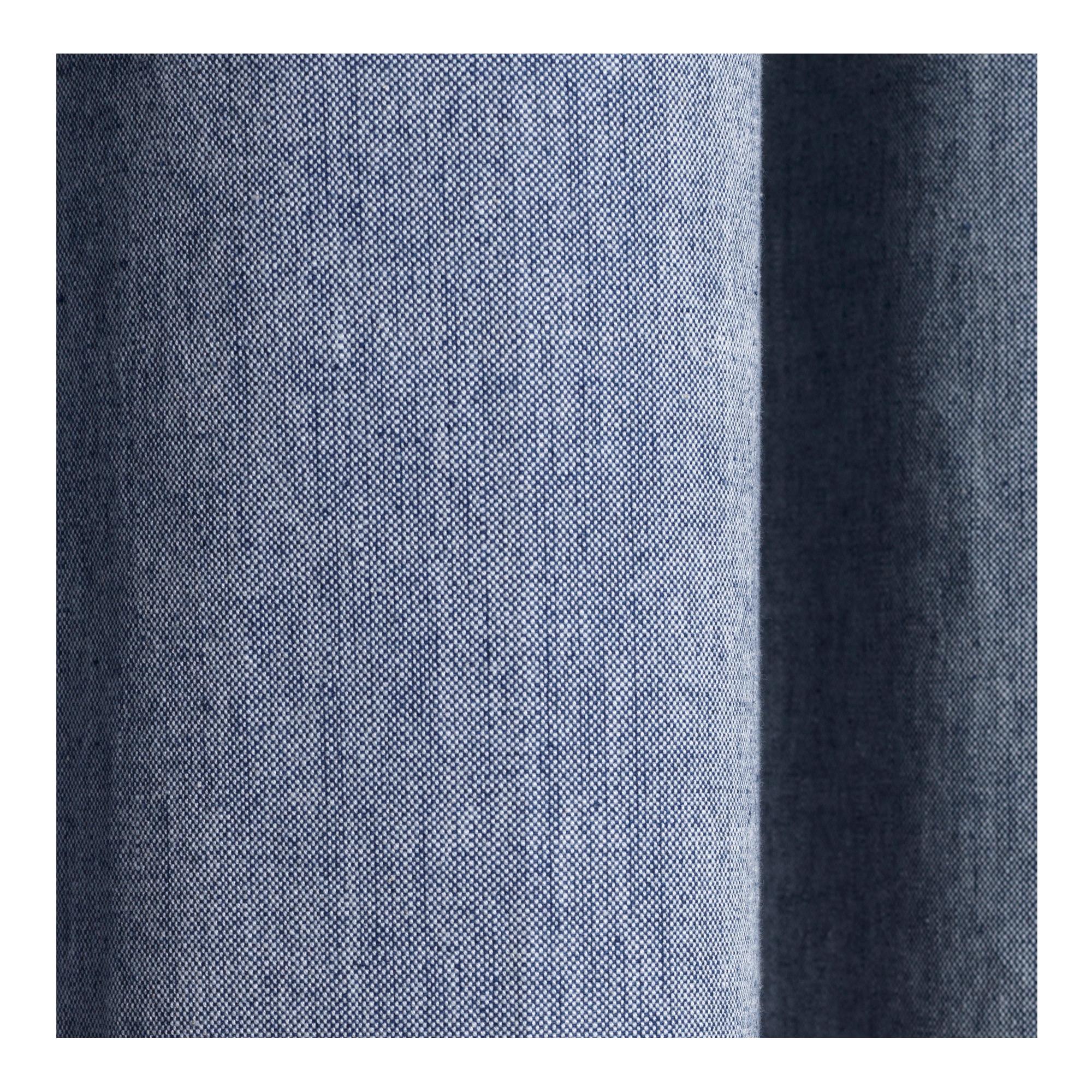 Chambray Shower Curtain Blue. Duschdraperi. utförande c968c19ab1f1a