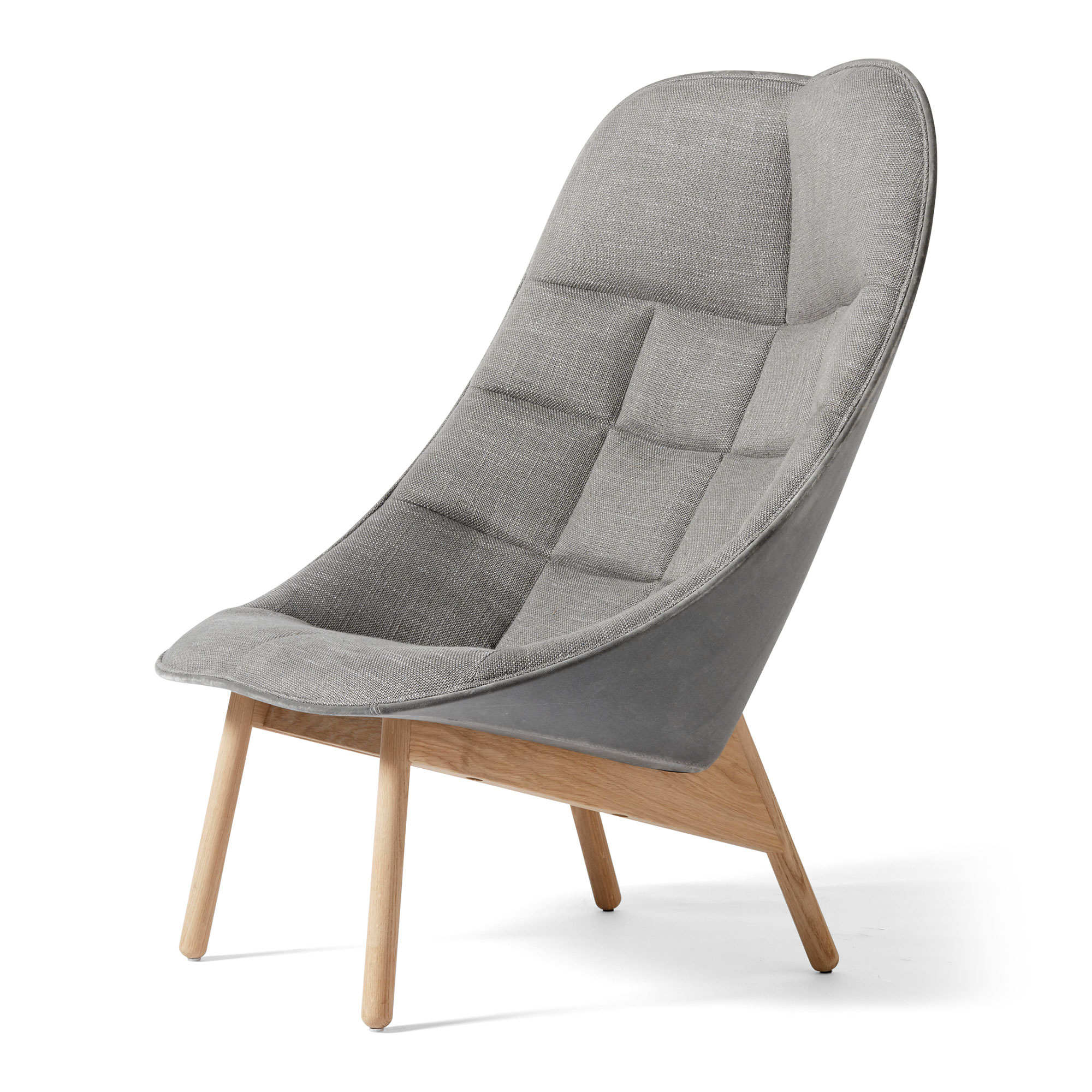 Hay Uchiwa Quilted Lounge Chair