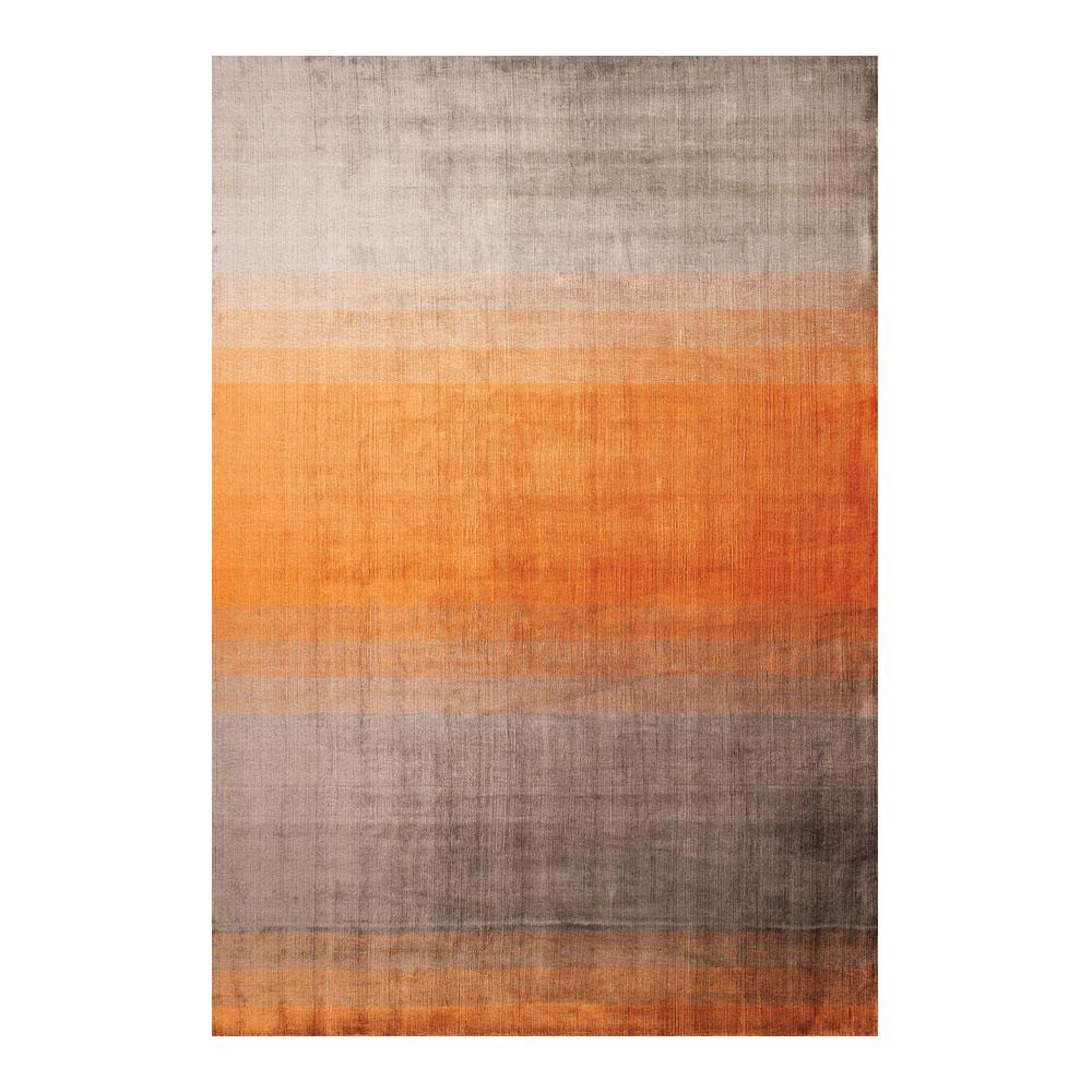 Grace Orange 170×240 cm Diskret mönstrad matta Linie Design