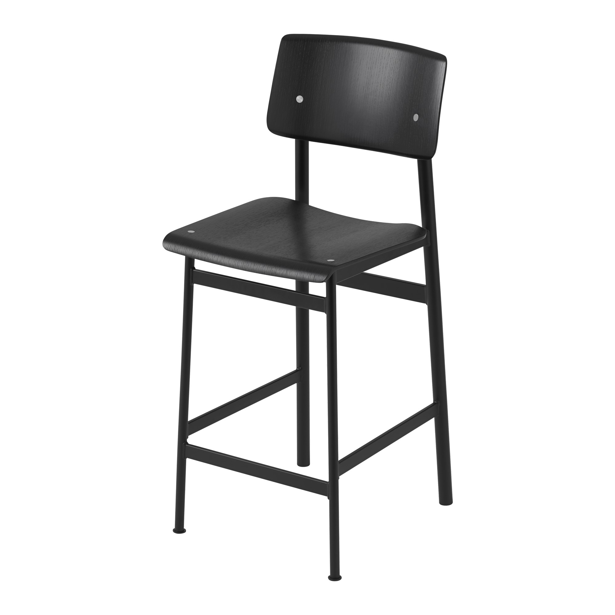 Loft Bar Stool 65 cm BlackBlack