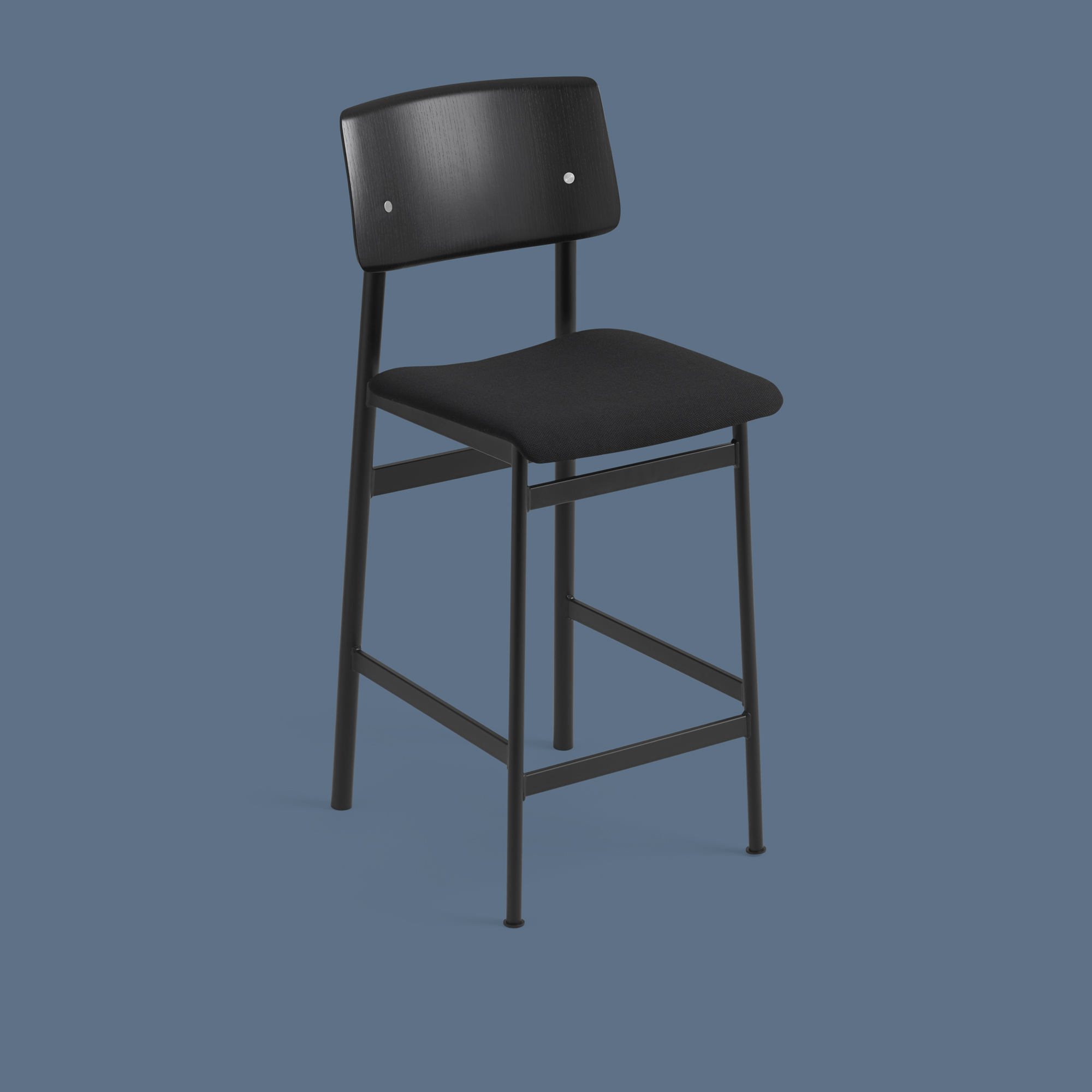Loft Bar Stool 65 cm BlackOak