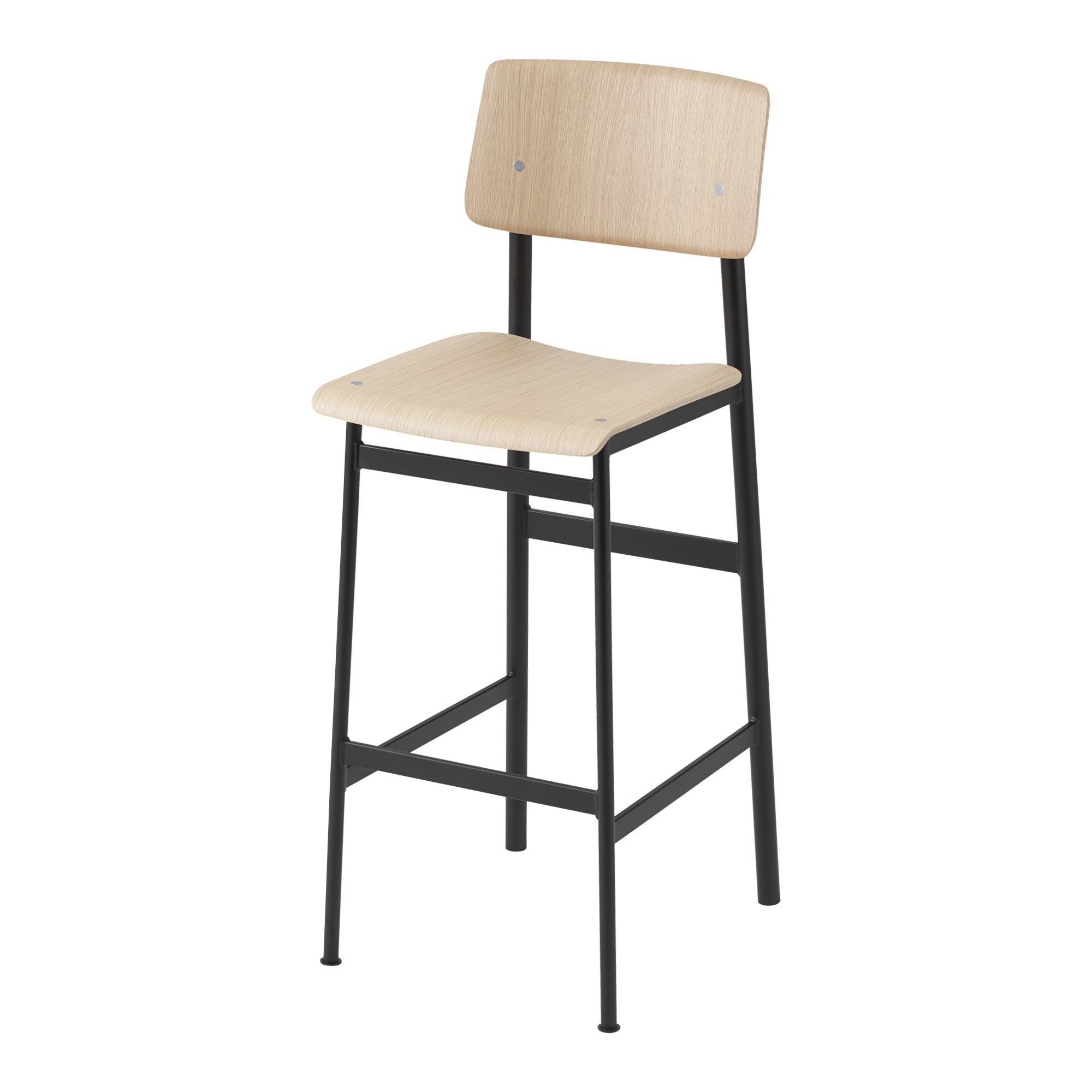 Loft Bar Stool 75 cm BlackOak