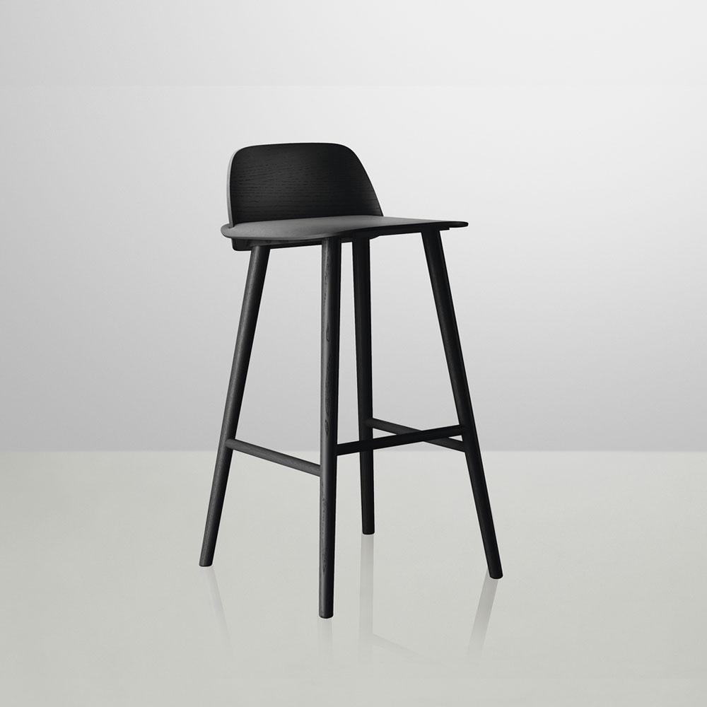 Nerd 65 cm Black