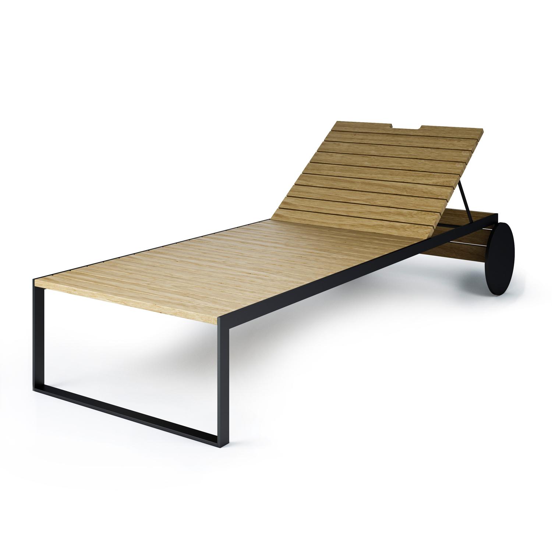 Prima Garden Lounger Solsäng | Röshults | Länna Möbler | Handla online WG-39
