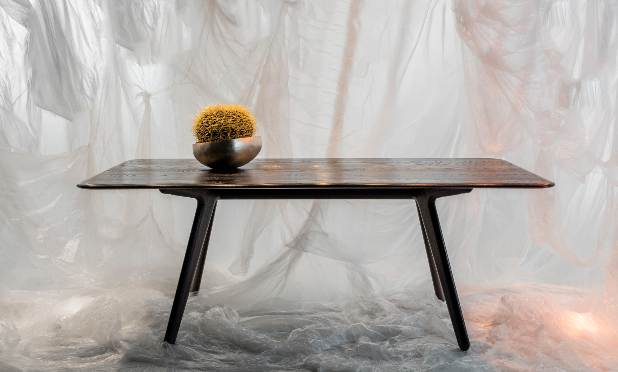 Slab Table Black Matbord Tom Dixon