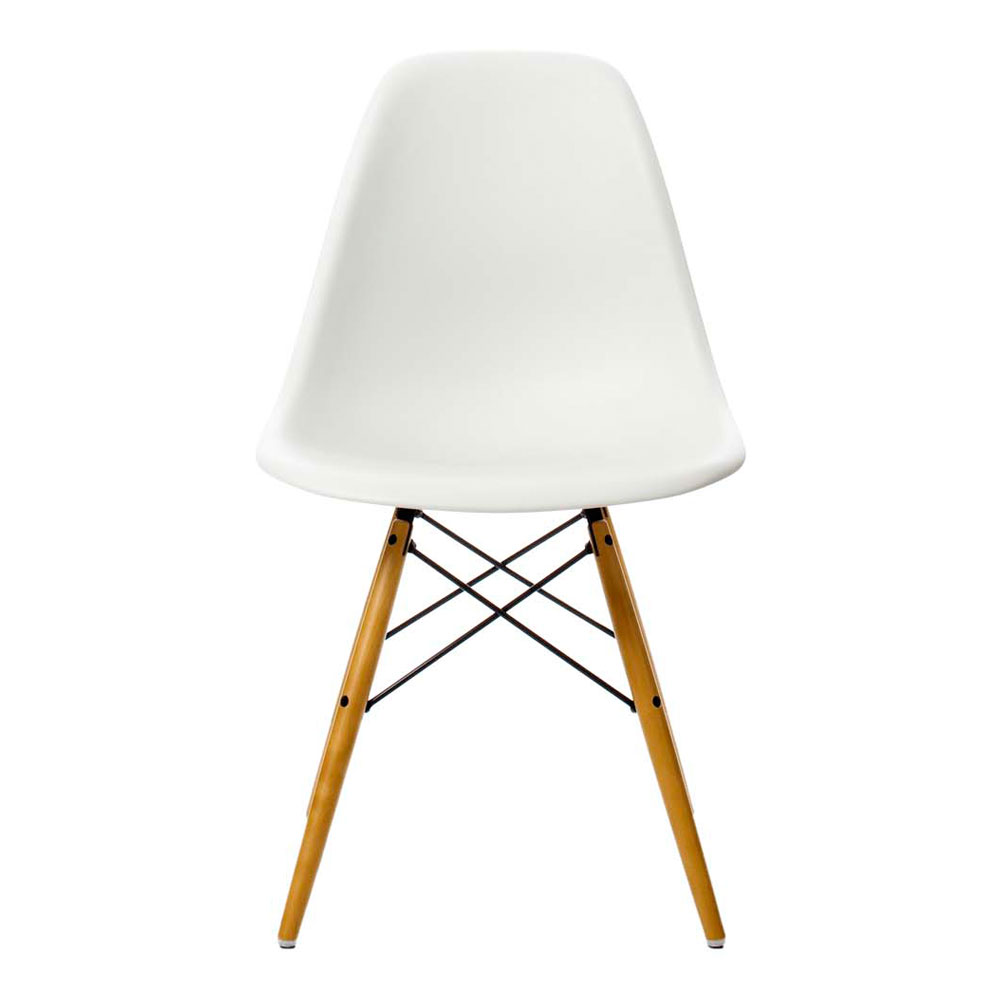 eames stol Eames Plastic Side Chair DSW Stol | Vitra eames stol