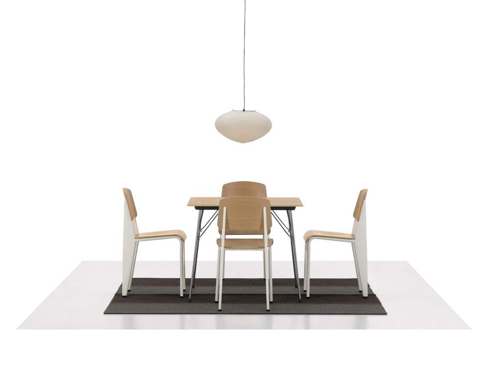 Standard Chair Mörk Ek Ecru