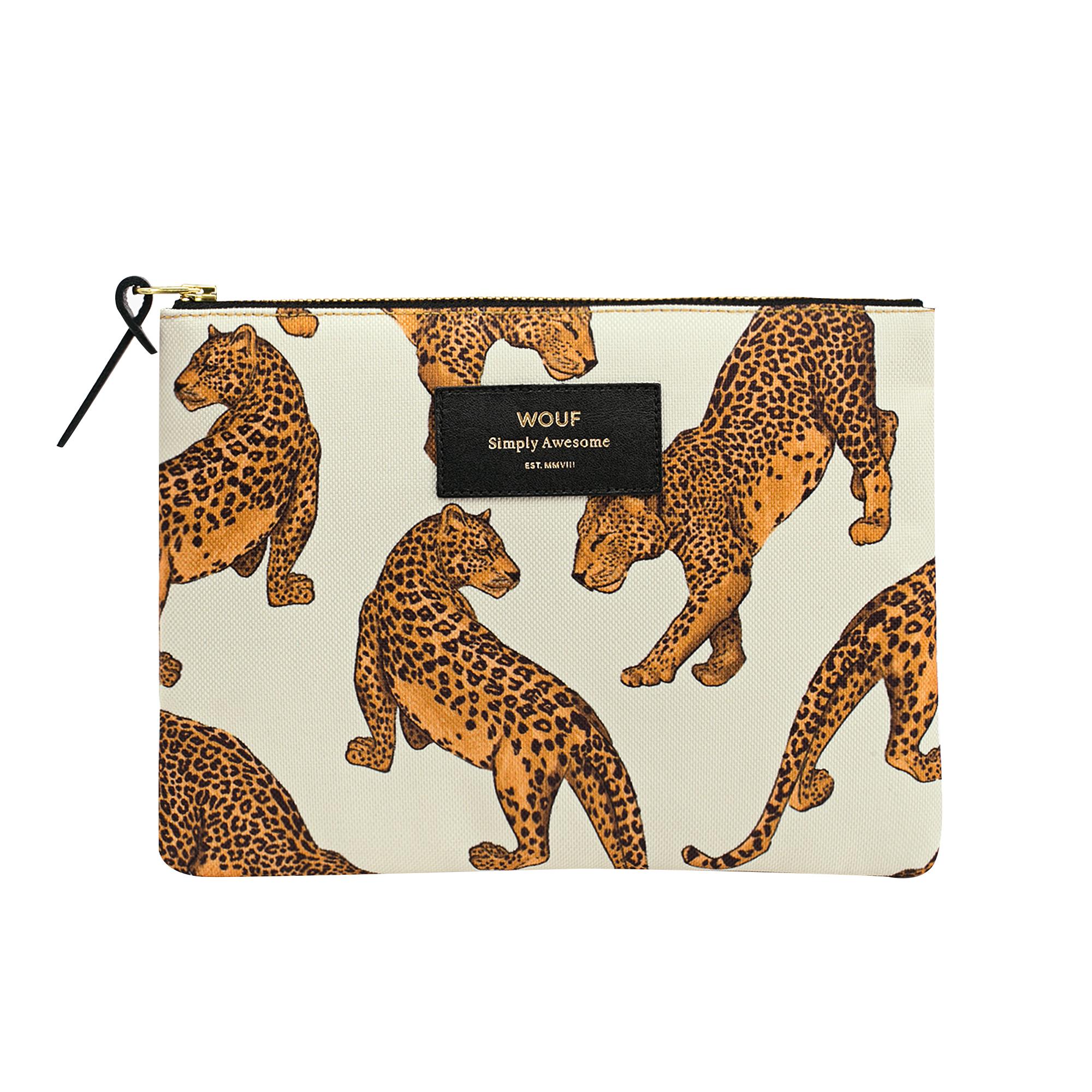 Large Pouch Leopard Necessär  2016cfd7caf64