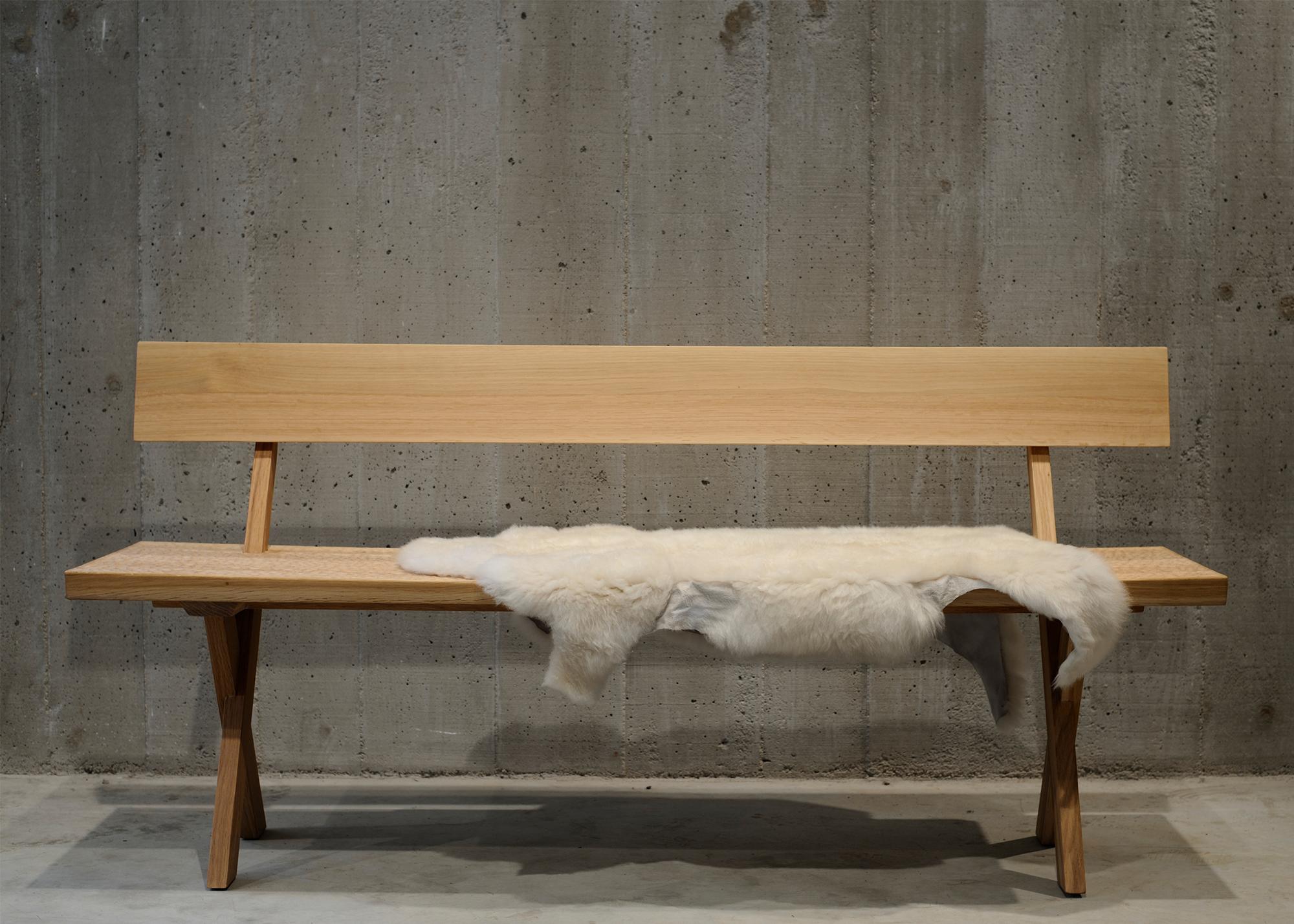 Populära Touch Bench 100 cm Bänk med ryggstöd | Zanat | Länna Möbler LR-41